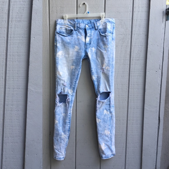a5e2b98d mnml Jeans | M55 Stretch Denim Bluebrand New | Poshmark